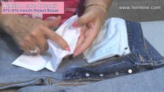 Pocket Repair ( Iron on ) by Hemline