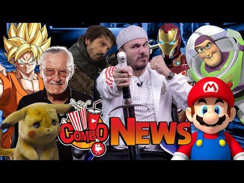 MuereStanLee, Pikachú, ToyStory4, MarioBrosPeli, DiegoLuna RegresaAstarwars  y más Combo