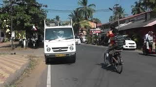 Индия Южный Гоа отель Ala Goa прогулка за территорией