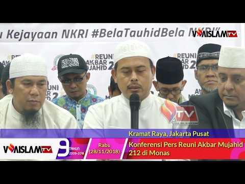 Konferensi Pers Reuni Akbar Mujahid 212 di Monas Mp3