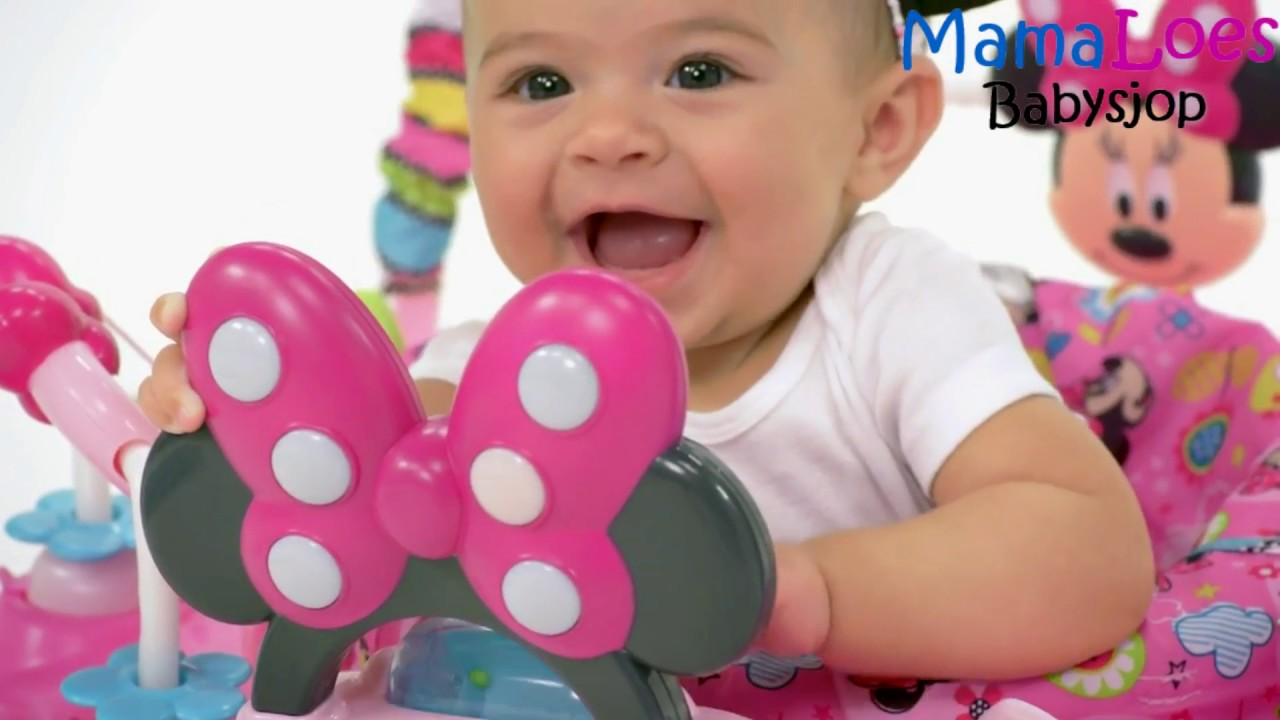 Minnie Mouse Stoel : Mamaloes babysjop bright starts disney minnie mouse activity