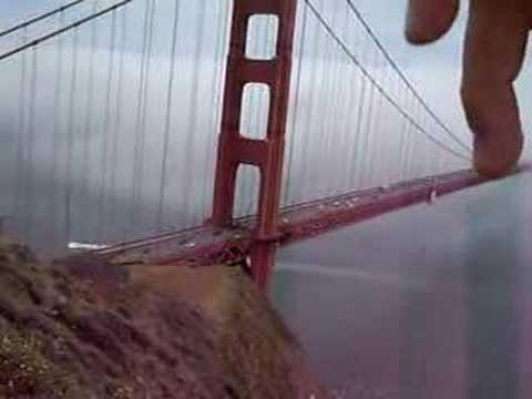 Golden Gate Bridge Monster Youtube
