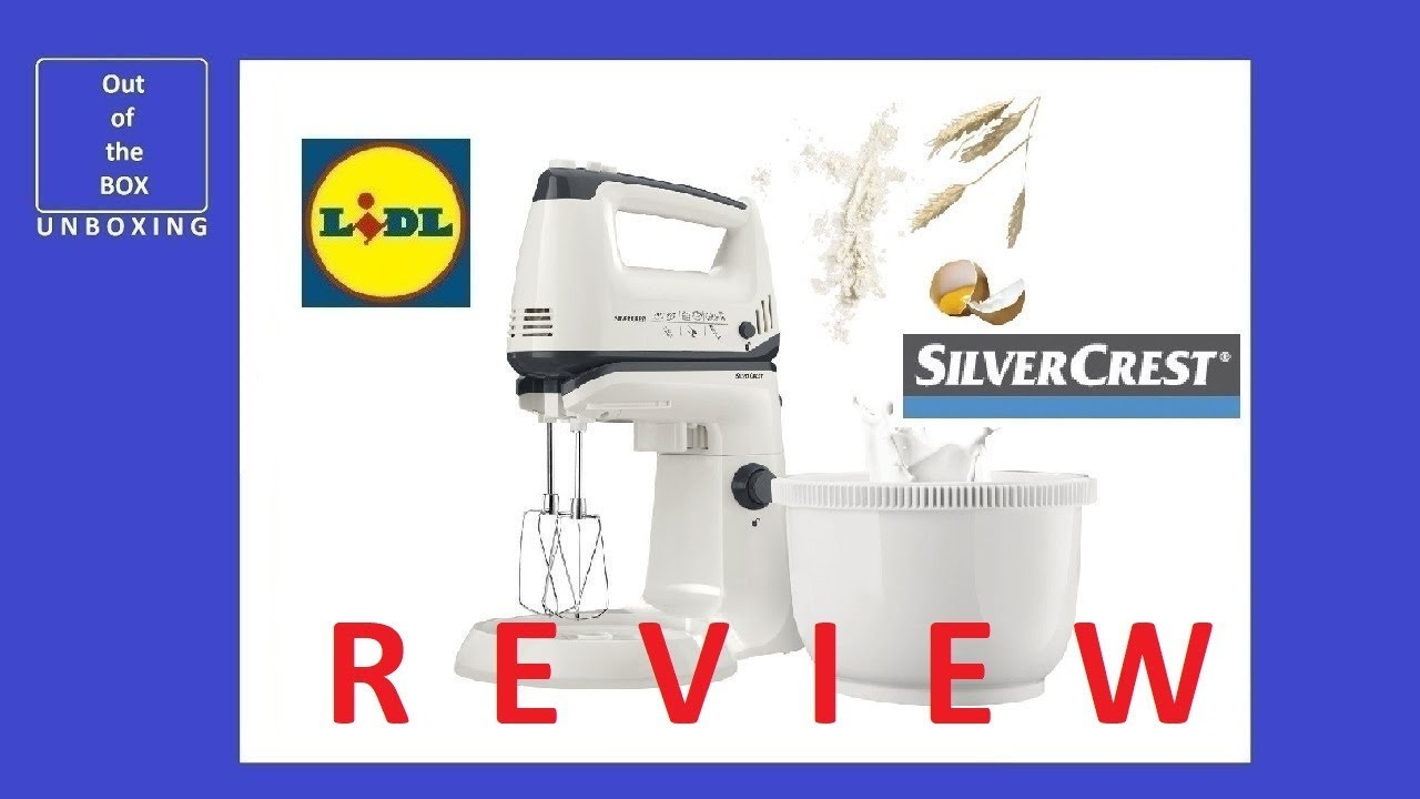 Lidl Silvercrest Nutrition Mixer Test Review Silvercrest Hand Mixer Set Shms 300 C2 Lidl 2 5l 300w 240v 10 Min