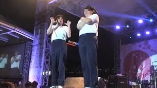 COWCOW performed in Sakura Matsuri 2014, Citywalk Lippo Cikarang, o...