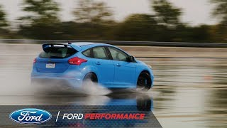 Ford Performance Tests the Focus RS Drift Stick | Ford Performance thumbnail