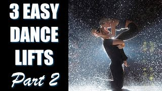 3 Easy Dance Lifts and Tricks (Part 2) Partnering Tips Tutorial
