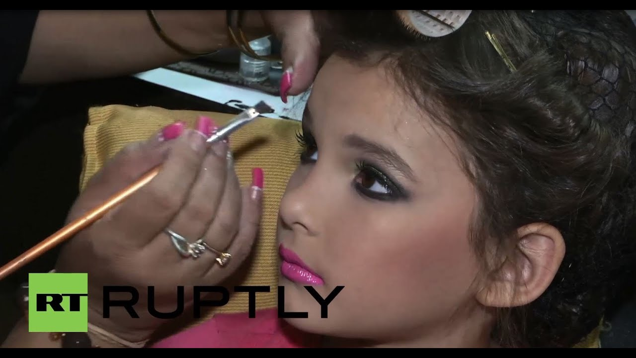 Venezuela: Annual child beauty contest attracts girls as young as FOUR!