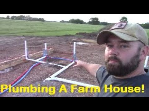 how-to-plumb-a-new-construction-house!?!