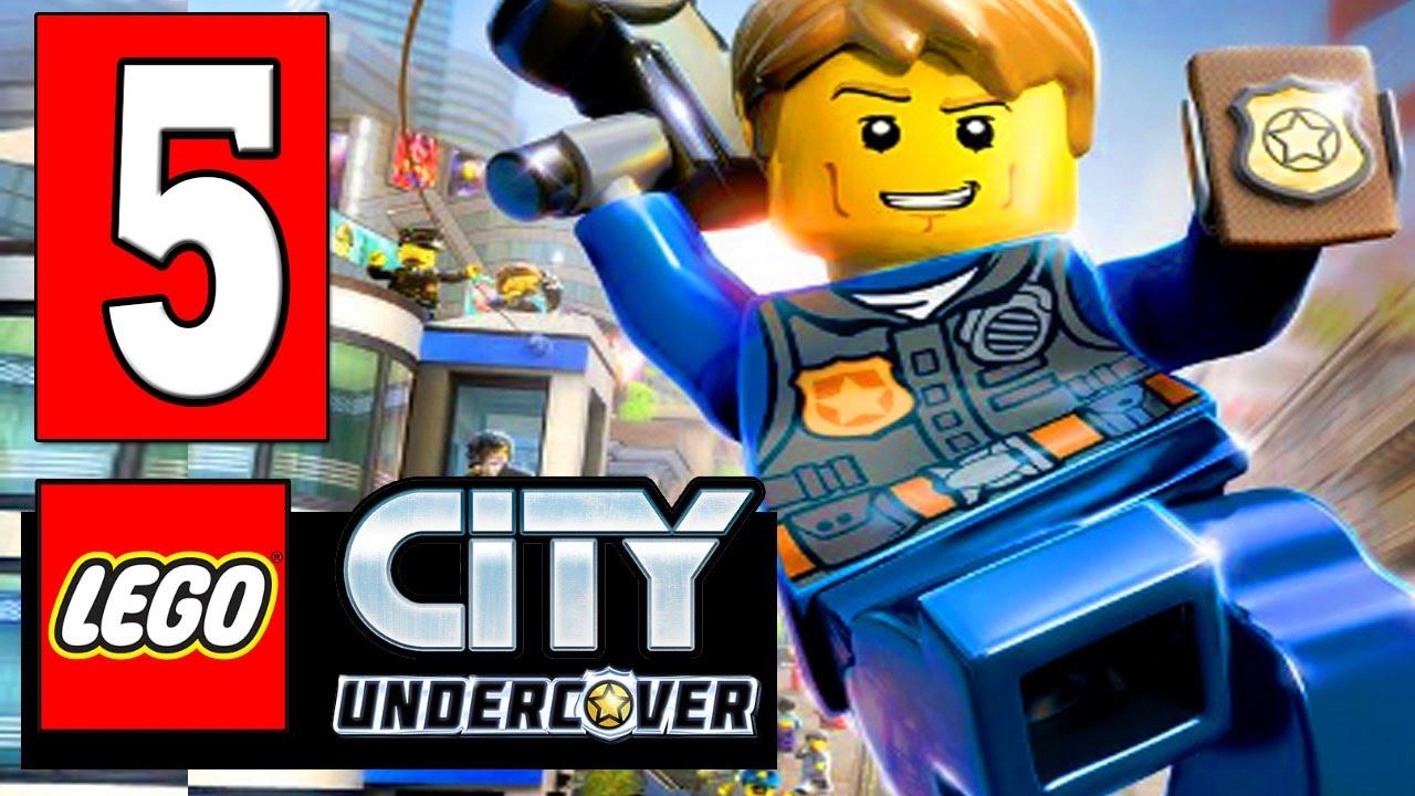 lego city undercover: walkthrough part 5 find a way into