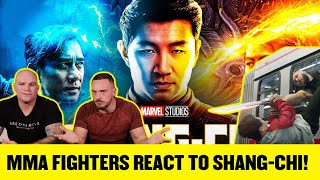 UFC FIGHTER REVIEWS SHANG CHI FIGHT SCENE! KUNG FU vs SUPER POWERS!