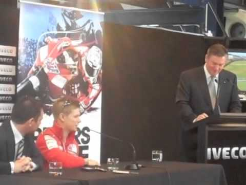 Casey Stoner pre-event press conference - Part 1