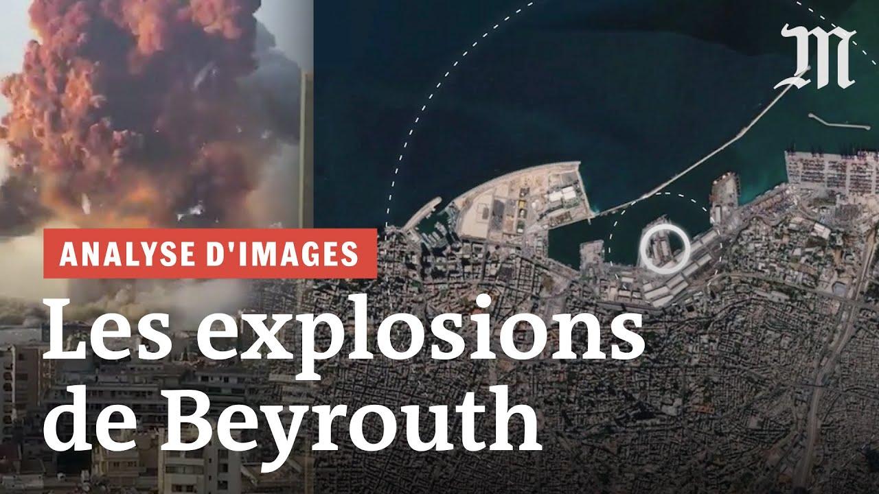 Ce que les vidéos de l'explosion à Beyrouth révèlent de l'onde de choc