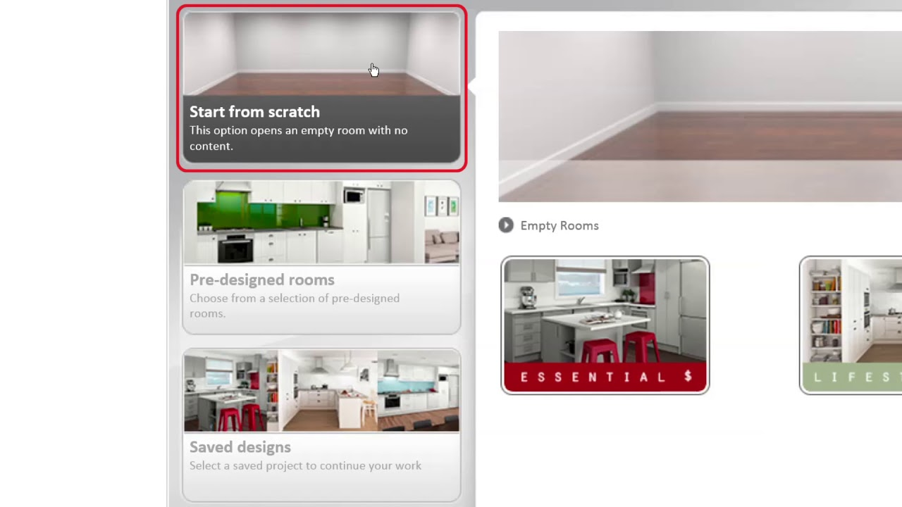 PlaceMakers 3D Kitchen Planner