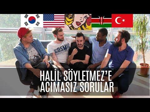 TÜRKİYE'DE YOUTUBER OLMAK | 3 Yabancı 1 Türk #12 (Ft. HALİL SÖYLETMEZ)