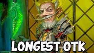 Worlds Longest OTK Combo [Hearthstone]