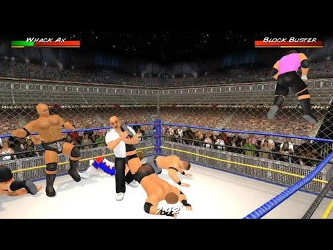 🥇 Wrestling Revolution 3D first blood Android gameplay