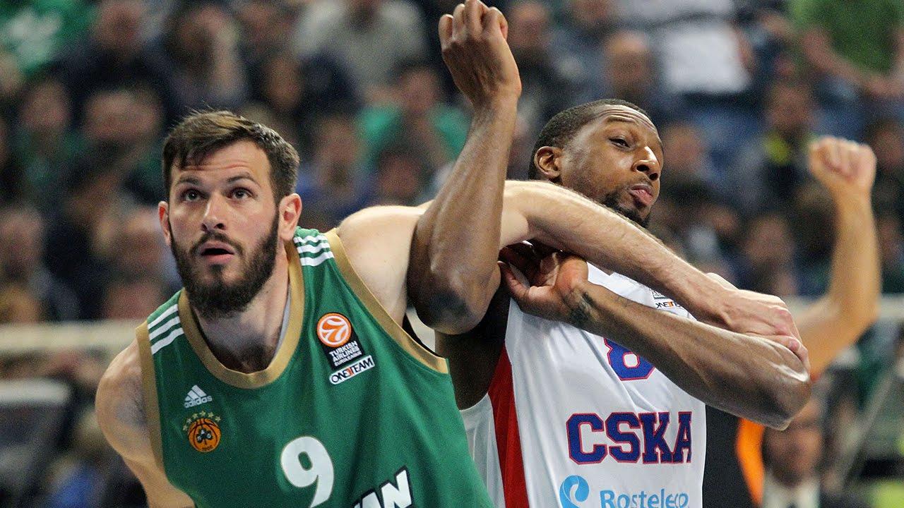Cska Panathinaikos Hd: Highlights: Panathinaikos Athens-CSKA Moscow, Game 3