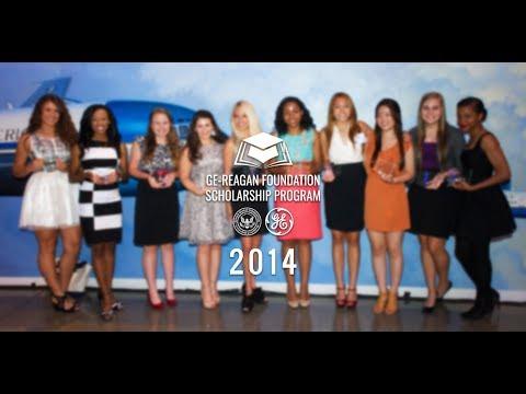 2014 GE-Reagan Foundation Scholarship Program