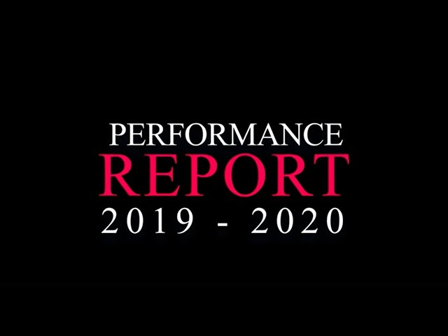 Performance Report 2019-2020 | Arts Council