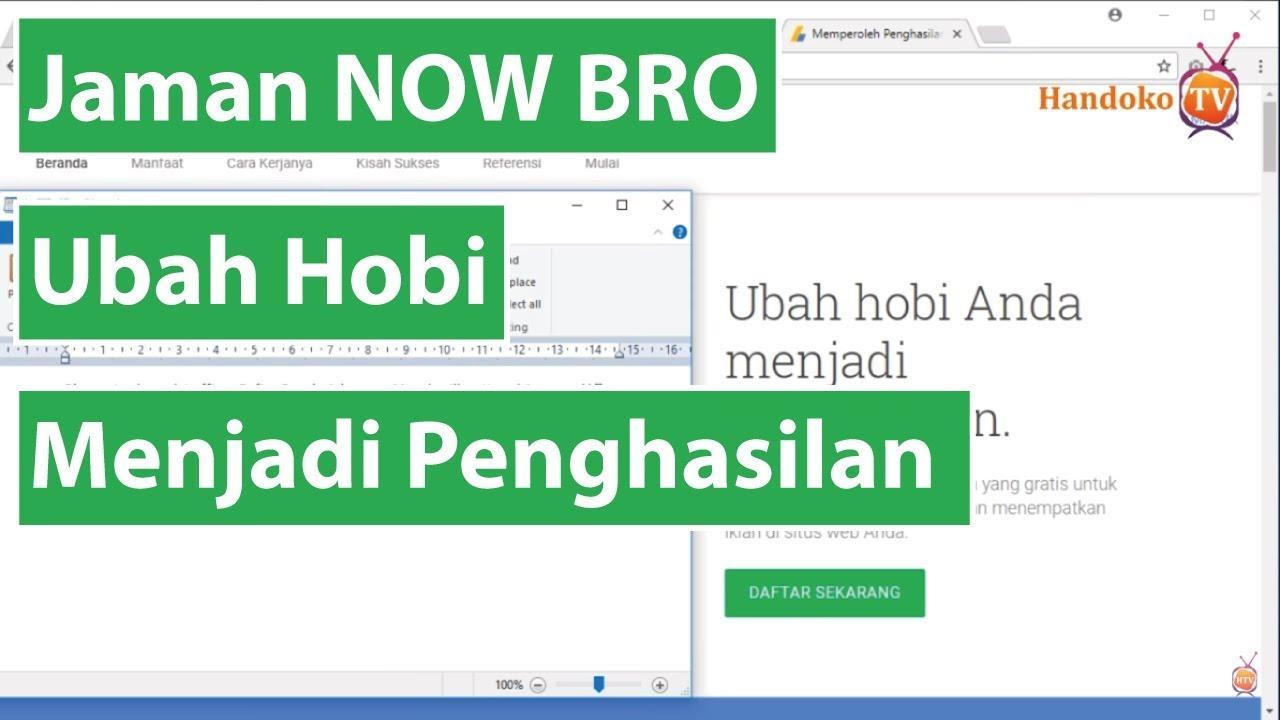 cara membuat blog untuk menghasilkan uang di google adsense 1