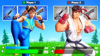 The *STREET FIGHTER* Challenge in Fortnite!