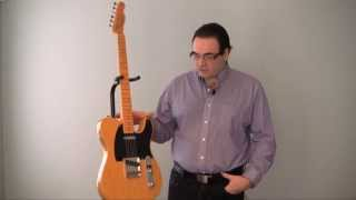 A detailed comparison between a Fender Telecaster, Stratocaster & Gibson Les Paul