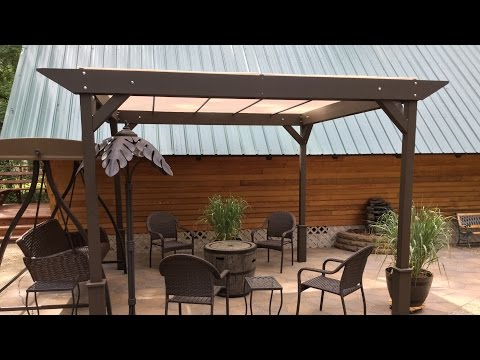 DIY – How I built a Simple Stand-alone Sun Shade - Shelter