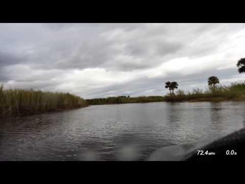 Fast GPR jet ski through the St. Johns river