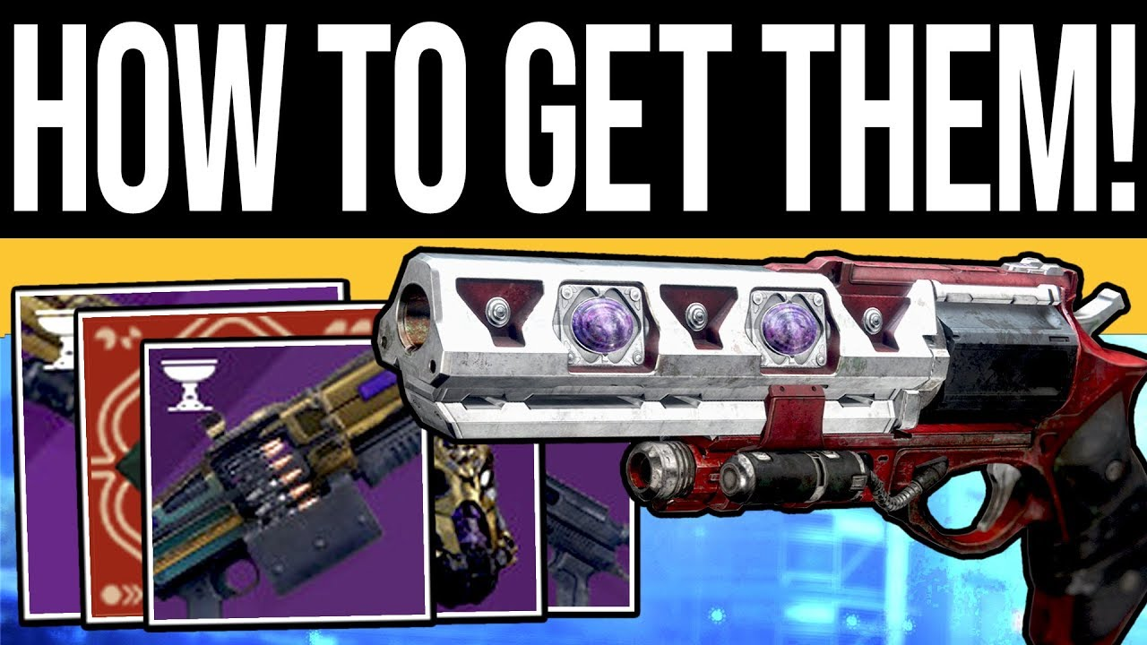 Destiny 2 | How to Get NEW Menagerie Weapons! Rune Combinations, Armor  Drops & DLC Loot Guide!