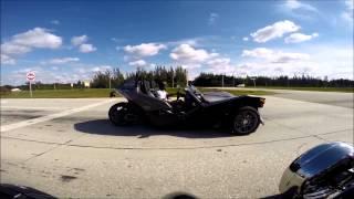 Polaris Slingshot VS. Campagna T-rex Part 2 of 3 Race