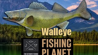 Fishing Planet Walleye basic fishing guide EP#5