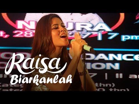 RAISA - Biarkanlah (Meikarta Music Festival)