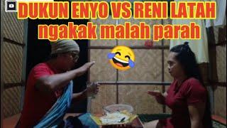 Part #4 Enyo bawa istri ( Reni ) ke dukun ngobatin latah nya ???? malah parah