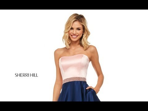 dc7f28a65a2 Sherri Hill 52776 Prom Dress - YouTube