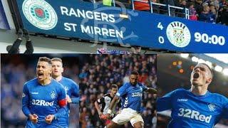 Rangers 4-0 St Mirren FOUR PENALTIES