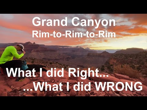 Grand Canyon Rim-to-Rim-to-Rim:
