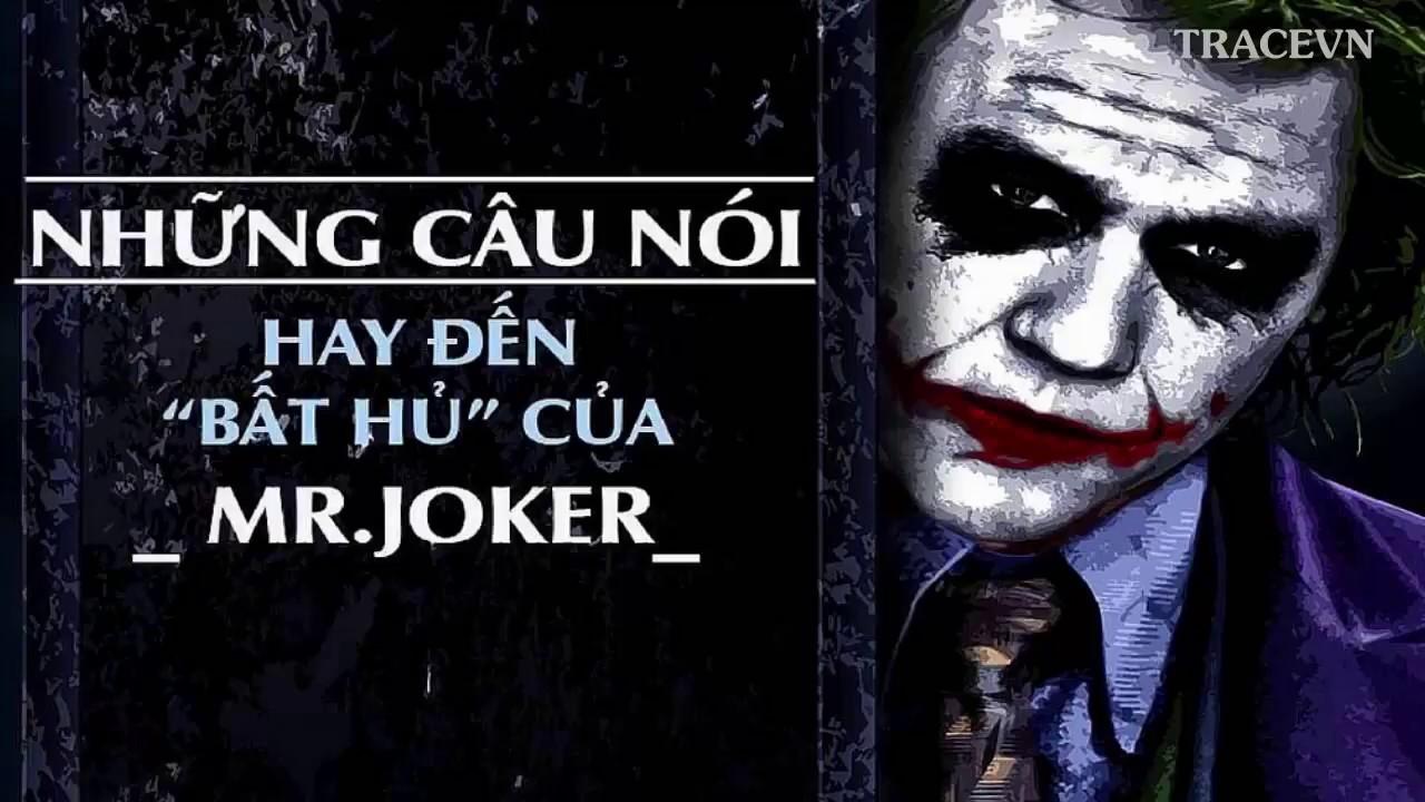 Tracevn - Những câu nói hay nhất của Joker