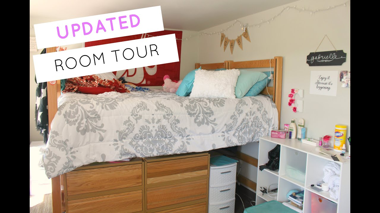 Dorm Room Tour | FRESHMAN YEAR (UPDATED!!)   YouTube Part 36