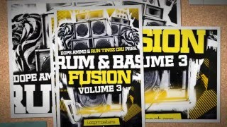 Drum Bass Fusion Vol 3 - Royalty Free Jungle Loops - By Dope Ammo Run Tingz Cru
