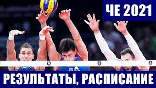 Волейбол Мужской чемпионат Европы 2021 Результаты матчей Турнирное положение Расписание встреч