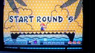 Super Paper Mario:The Hidden Arcade Games