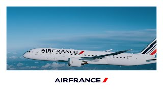 Le Boeing 787 Dreamliner d'Air France en plein vol