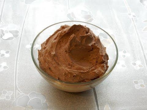 Как приготовить шоколадный крем для торта из какао