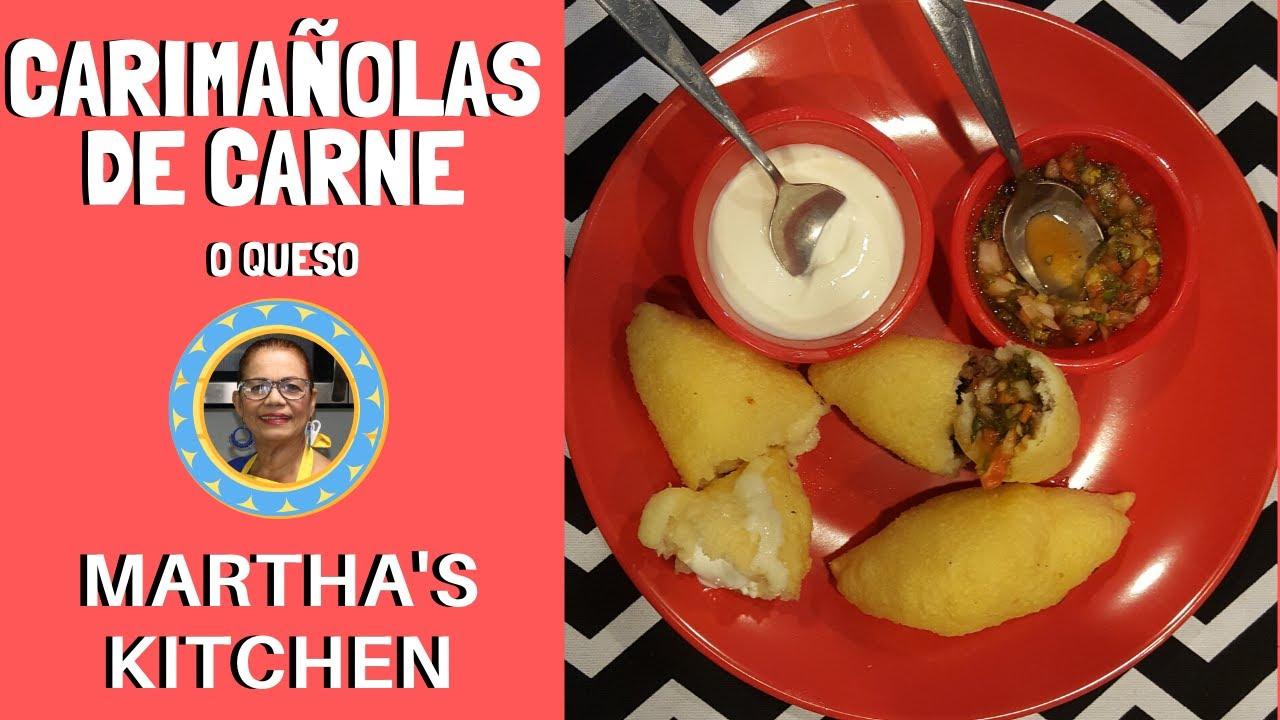Carimanolas De Carne O Queso Con Martha S Kitchen Youtube