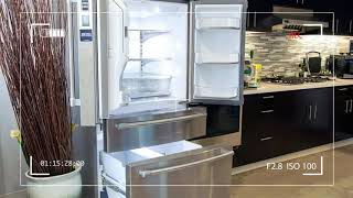 With 4 Doors and a Pizza Pocket, This Fridge Makes Peace in The Roommate Wars