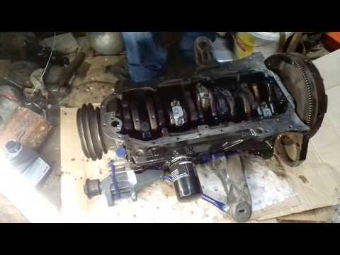 Ремонт двигателя ауди Часть 12 Установка поршневой и вкладышей