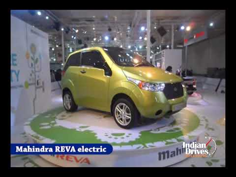 2012 Mahindra REVA Electric New look