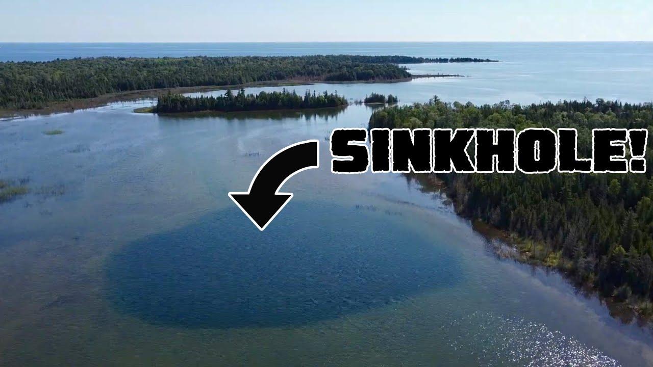 90 Foot Deep Underwater Sinkhole