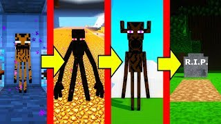 ENDERMAN MUTANTE VS LA VIDA EN MINECRAFT 🔪❤ DE BEBÉ ENDERMAN A ENDERMAN TITAN 💀 ROLE PLAY