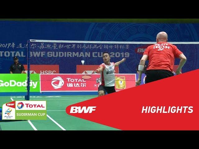 TOTAL BWF SUDIRMAN CUP 2019 | MS | INDONESIA VS ENGLAND | BWF 2019